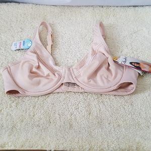 Playtex Blush Pink Breathably Cool Underwire Bra